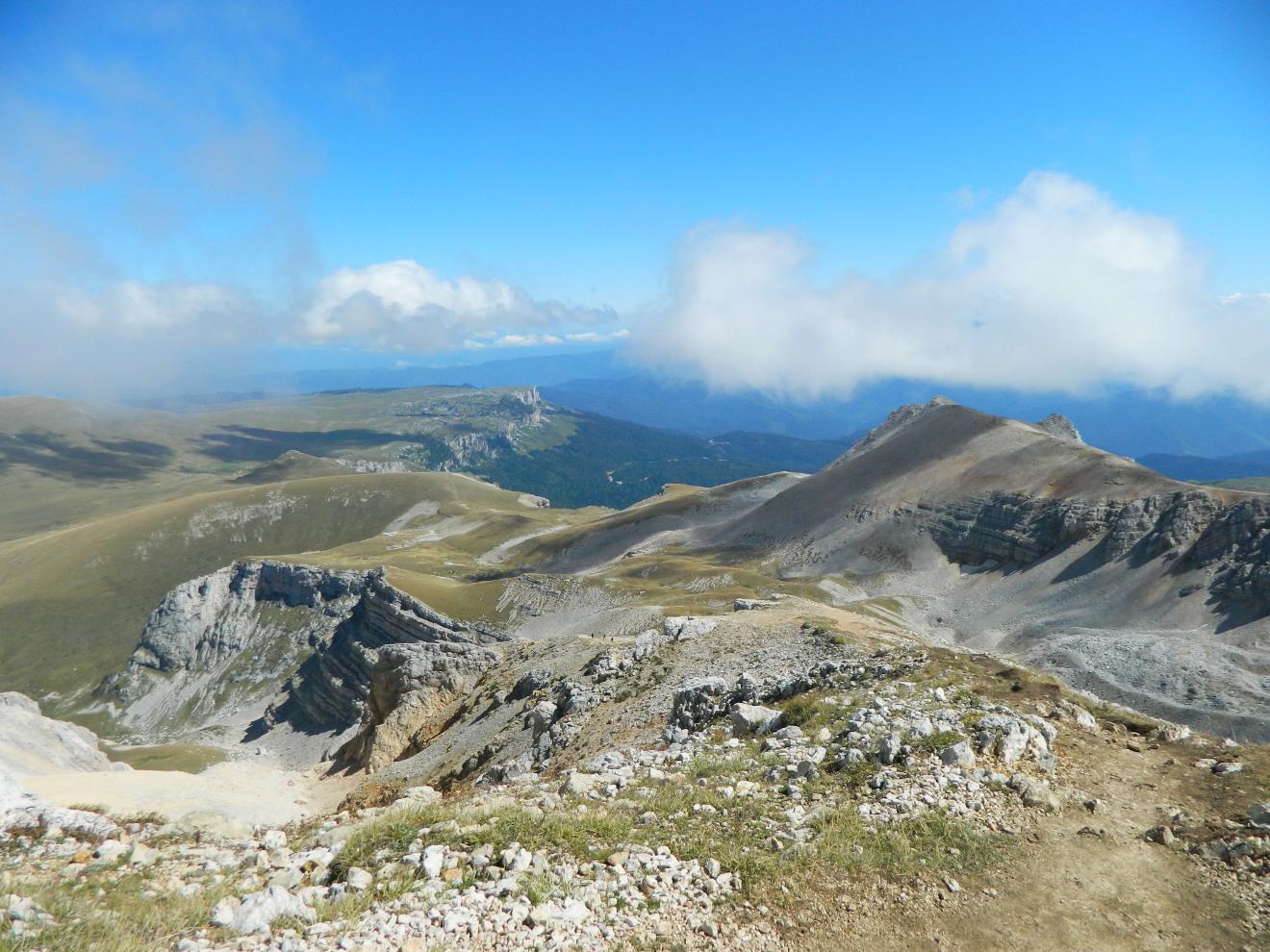 Ультрамариновый вид с горы Оштен, Кавказский биосферный заповедник, Адыгея