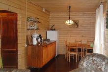 Кухня в домике, гостевой дом Дрозды, с. Хамышки