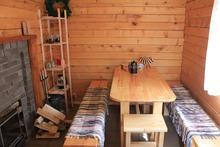 Комната отдыха в банном домике, гостевой дом Дрозды, с. Хамышки