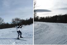 Беговые лыжи на Западном Кавказе