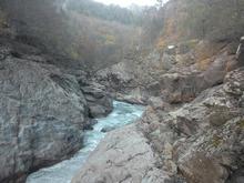 Природный парк Гранитный каньон реки Белой, Западный Кавказ, фото осень 2018 г.