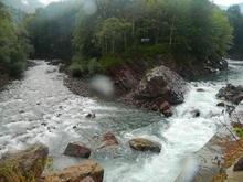 Слияние рек Белая и Киша, Западный Кавказ