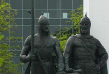 Памятник Навеки с Россией, пл. Дружбы, г. Майкоп, 2019 г.
