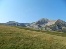 Сентябрь 2018 г., гора Оштен, Западный Кавказ, в пути от пер. Узуруб (Инструкторская щель)