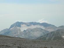 Сентябрь 2018 г., гора Оштен, Западный Кавказ, вид на г. Фишт