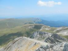 Сентябрь 2018 г., гора Оштен, Западный Кавказ, вид на вершину Нагой-Кош