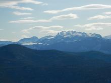 Вид со скалы Галкина на г. Большой Тхач