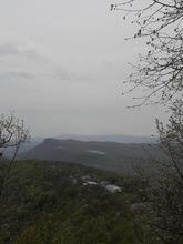 Вид на монастырь с вершины горы Физиабго, фото 01.05.19г.