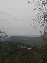 Вид с вершины г. Физиабго, фото май 2019 г.