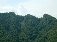 Гора Трезубец, вид на г. Острая