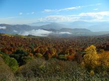Долина в пределах Передового хребта Западного Кавказа