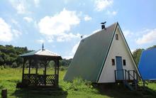 Альпийский домик на 8 чел., территория турбазы Серебряный ключ
