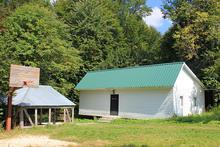 Белый дом на 10-12 чел., территория турбазы Серебряный ключ