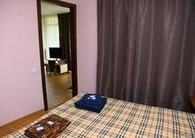 Спальня 5-ти местного номера, база отдыха Грин Хаус, с. Хамышки