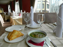 """В ресторане гостиничного комплекса """"Водопады Руфабго"""" вкусно и приемлемые цены"""