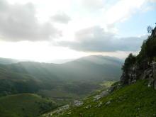 В пути к вершине г. Фишт, фото август 2016 г.