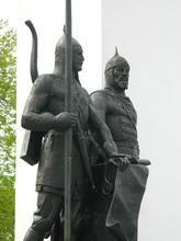 Памятник черкесскому и русскому воинам, г. Майкоп