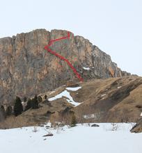 Нить восхождения на вершину Нагой-Кош