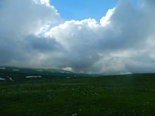 В пути к вершине Нагой-Кош, июнь 2018