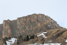 Вершина Нагой-Кош, вид с Партизанской поляны
