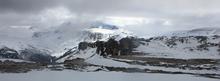 Вид на г. Оштен с вершины Нагой-Кош
