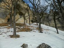 Скалы недалеко от скалы Галкина