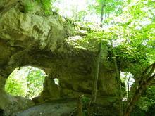 Скальные арки на хр. Уна-Коз