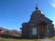 Русский православный храм во имя святых Гурия, Самона и Авива, с. Хамышки