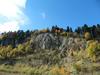 Осень в горах Адыгеи - ультрамарин неба