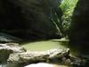 Горная река Курджипс, подходит для купания